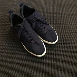 Navy Like new Ban Rep men's 10 1/2 knit sneakers